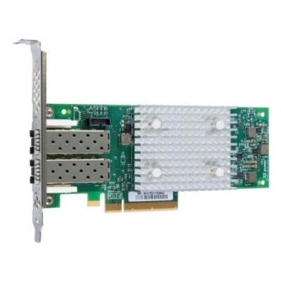 Lenovo QLogic 16Gb FC kétportos HBA (Enhanced Gen 5) - Hostbus-adapter - Alacsony profilú PCIe 3.0 x8
