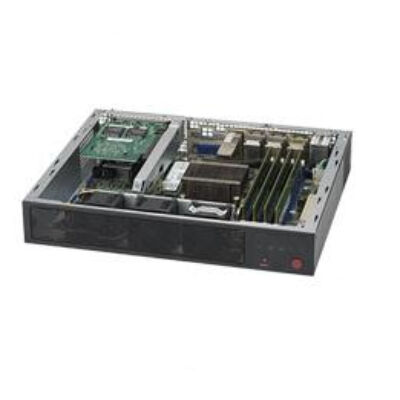 Supermicro SuperServer E300-8D - 2.20 GHz - D-1518 - DDR4-SDRAM - Mini (1U) SYS-E300-8D