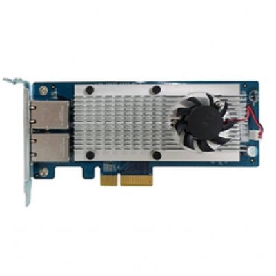 QNAP LAN-10G2T-X550 - Internal - Wired - PCI Express - Ethernet - 10000 Mbit/s LAN-10G2T-X550
