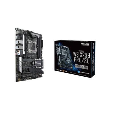 ASUS WS X299 PRO/SE - Intel - LGA 2066 - Intel® Core™ X-series - DDR4-SDRAM - DIMM - 2133,2400,2666,3600,4000 MHz 90SW00A0-M0EAY0
