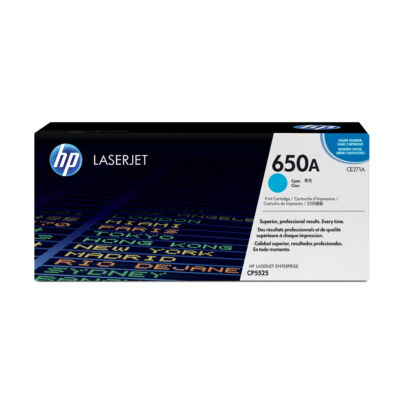 HP 650A - 15000 pages - Cyan - 1 pc(s) CE271A