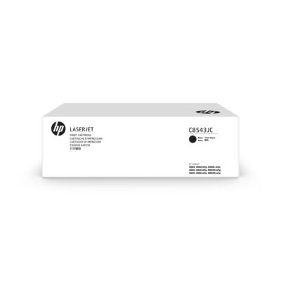 HP 43J Blk Contract LJ festékkazetta - 30000 oldal - fekete - 1 db C8543JC