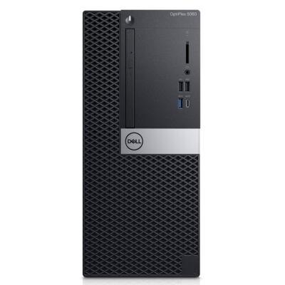 Dell OPTIPLEX 5060 MT - PC - Core i5 3 GHz - RAM: 8 GB DDR4 - HDD: 256 GB Serial ATA - UHD Graphics 600 P1KTG