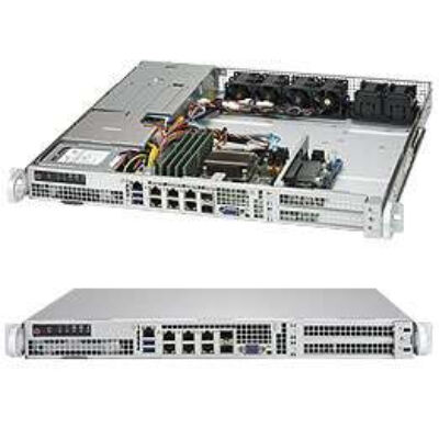 Supermicro SYS-1018D-FRN8T - Server Barebone - Xeon D - DDR SYS-1018D-FRN8T