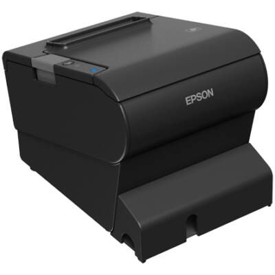 Epson TM-T88VI (111P0) - Thermal - POS printer - 180 x 180 DPI - 350 mm/sec - 8.3 cm - Wired & Wireless C31CE94111P0