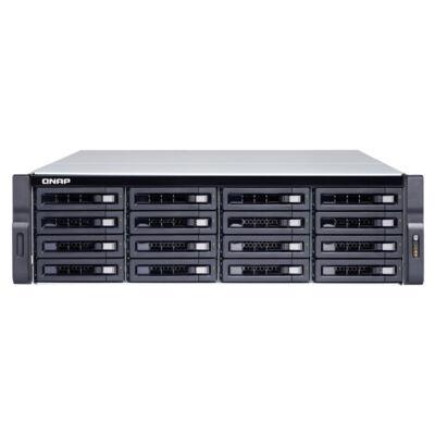 QNAP TS-1683XU-RP - HDD, SSD - Soros ATA III - 2,5,3,5 - 0,1,5,6,10,50,60, JBOD - FAT32, HFS +, NTFS, ext3, ext4 - Intel Xeon TS-1683XU -RP-E2124-16G