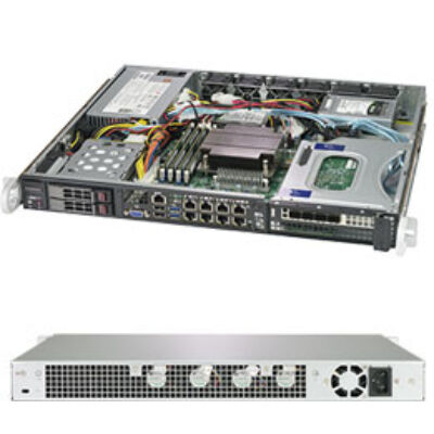 Supermicro SuperServer 1019C-FHTN8 - Intel C246 - LGA 1151 (Socket H4) - Intel® Celeron® - Intel® Core™ i3 - Intel® Pentium® - Intel® Xeon® - DDR4-SDRAM - 4GB,8GB,16GB,32GB - 128 GB SYS-1019C-FHTN8