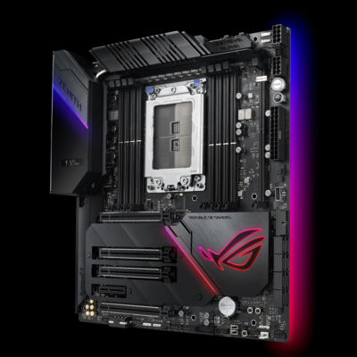 ASUS ROG Zenith Extreme Alpha - AMD - Socket TR4 - AMD Ryzen - DDR4-SDRAM - DIMM - 2133,2400,2666,2800,2933,3000,3200,3466,3600 MHz 90MB10G0-M0EAY0