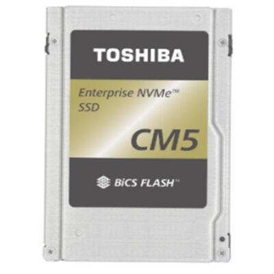 """Toshiba CM5-R eSSD 3840 GB PCIe 3x4 - 3840 GB - 2.5"""" - 3350 MB/s KCM51RUG3T84"""