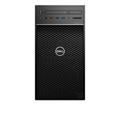 Dell Precision T3630 - Workstation - Core i7 3.2 GHz - RAM: 16 GB DDR4 - HDD: 256 GB Serial ATA - UHD Graphics 600 R199T