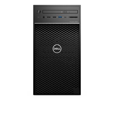 Dell Precision T3630 - Workstation - Core i7 3.2 GHz - RAM: 16 GB DDR4 - HDD: 256 GB Serial ATA - UHD Graphics 600 R199T