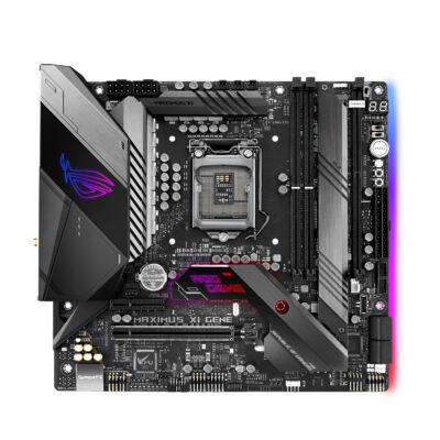 ASUS ROG MAXIMUS XI GENE - Intel - LGA 1151 (Socket H4) - Intel® Celeron® - Intel® Pentium® - i3-8xxx,i5-8xxx,i7-8xxx - DDR4-SDRAM - DIMM 90MB10E0-M0EAY0