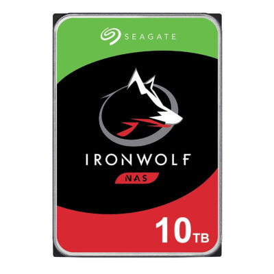 "Seagate NAS HDD IronWolf - 3.5"" - 10000 GB - 7200 RPM ST10000VN0008"