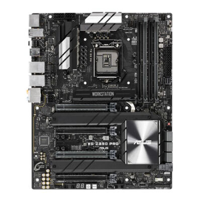 ASUS WS Z390 PRO - Intel - LGA 1151 (Socket H4) - Intel Celeron - Intel Core i3 - Intel Core i5 - Intel Core i7 - Intel Pentium - DDR4-SDRAM - D ...