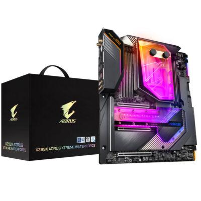 Gigabyte X299X Aorus Xtreme Waterforce - Intel - LGA 2066 - Intel Core i7, Intel Core i9 - DDR4-SDRAM - DIMM - 2133 2400 2666 2933 MHz X299X AORUS XTRE