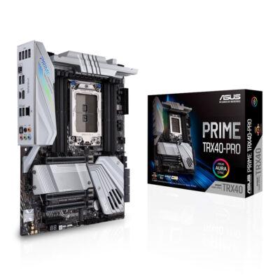 ASUS Prime TRX40-Pro - AMD - sTRX4 - AMD Ryzen - DDR4-SDRAM - DIMM - 2133,2400,2666,2800,2933,3200,3400,3733,3800,4133,4266,4333,4400,4600,4666 MHz 90MB12F0-M0EAY0