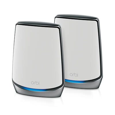 Netgear Orbi AX6000 - Háromsávos (2,4 GHz / 5 GHz / 5 GHz) - Wi-Fi 6 (802.11ax) - 2400 Mbit / s - 802.11a, 802.11b, 802.11g, Wi-Fi 4 (802.11n), Wi-Fi 5 (802.1
