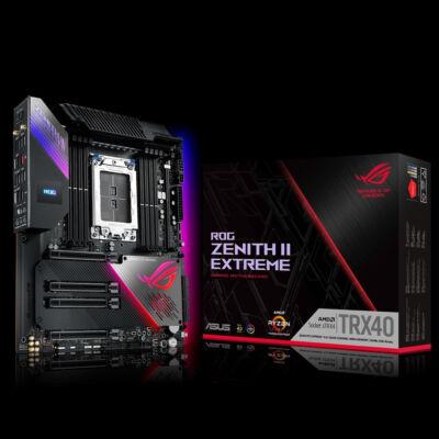 ASUS ROG Zenith II Extreme - AMD - sTRX4 - AMD Ryzen - DDR4-SDRAM - DIMM - 4733,2133,2400,2666,2800,3400,3733,3800,4133,4266,4333,4400,4600 MHz 90MB12C0-M0EAY0