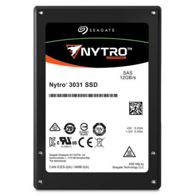 "Seagate Enterprise Nytro 3331 - 960 GB - 2.5"" - 1100 MB/s - 12 Gbit/s XS960SE70004"