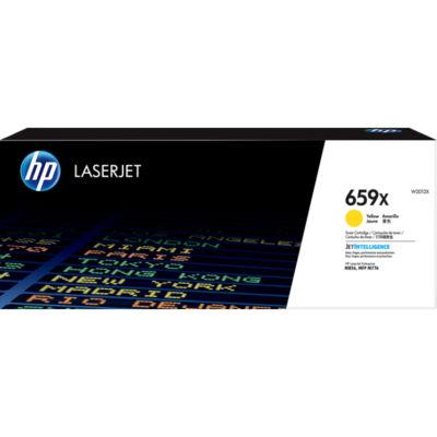 HP LaserJet 659X - 29000 oldal - Sárga - 1 db W2012X