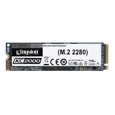 Kingston KC2000 NVMe 2,000 GB - Solid State Disk - Internal SKC2000M8/2000G