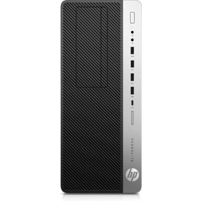 HP EliteDesk 800 G5 - PC - Core i7 3 GHz - RAM: 8 GB DDR4 - HDD: 256 GB NVMe - UHD Graphics 600 7QM90EA