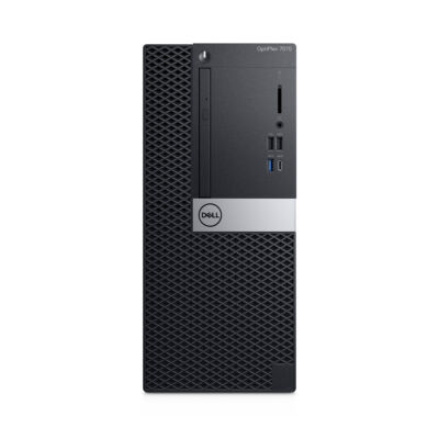 Dell OPTIPLEX 7070 MT - PC - Core i7 3 GHz - RAM: 16 GB DDR4 - HDD: 512 GB - UHD Graphics 600 9M0R9