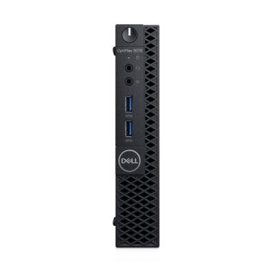 Dell OptiPlex 3070 - PC - Core i3 3.1 GHz - RAM: 8 GB DDR4 - HDD: 256 GB - UHD Graphics 600 V8D66