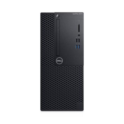 Dell Optiplex 3070 MT - PC - Core i3 3.6 GHz - RAM: 8 GB DDR4 - HDD: 256 GB - UHD Graphics 600 H0KM2