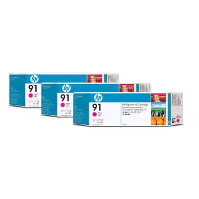 HP 91 - Original - Pigment-based ink - Magenta - HP - HP DesignJet Z6100 Printer series - Magenta C9484A