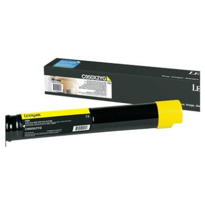 Lexmark C950X2YG - 24000 pages - Yellow - 1 pc(s) C950X2YG