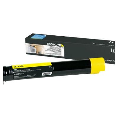 Lexmark C950X2YG - 24000 oldal - Sárga - 1 db C950X2YG