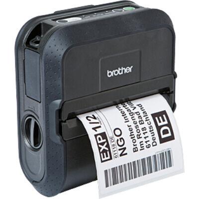 Brother RJ-4040 - Mobile printer - 203 x 200 DPI - 127 mm/sec - CODABAR (NW-7),Code 128 (A/B/C),Code 39,EAN13,EAN8,Interleaved... - 10.4 cm - Wired & Wireless RJ4040Z1
