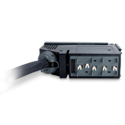 APC PDM1316IEC-3P - Black,Grey - (3) IEC 309 16A (2P+E) - 400 V - 16 A - 432 x 406 x 152 mm - 3.69 kg PDM1316IEC-3P