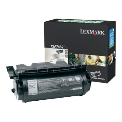 Lexmark 12A7462 - 21000 pages - Black - 1 pc(s) 12A7462