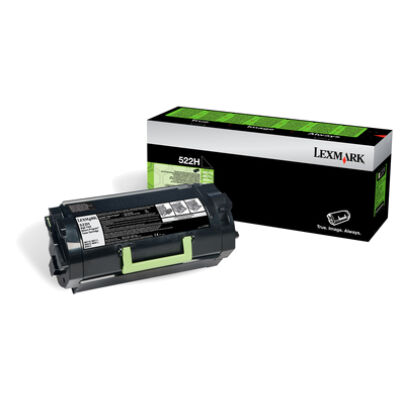 Lexmark 522H - 25000 pages - Black - 1 pc(s) 52D2H0E