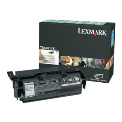 Lexmark T654 Extra High Yield Return Program Print Cartridge - Black T654X11E