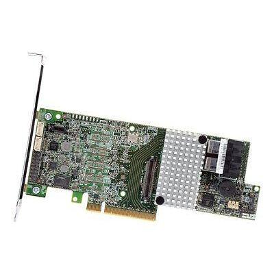 Intel RS3DC040 - SAS, SAS-2, Serial ATA, Serial ATA II, Serial ATA III - PCI Express x8 - Teljes magasság (alacsony profilú) - 0 - 1 - 10 - 5 - 50 - 6 - 60 - 12 Gb