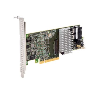 Intel RS3DC080 - SAS, Serial ATA III - PCI Express x8 - Félmagasság (alacsony profilú) - 0 - 1 - 10 - 5 - 50 - 6 - 60 - 12 Gbit / s - Alacsony profilú MD2 kártya RS3