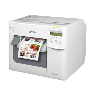 Epson TM-C3500 - Inkjet - 720 x 360 DPI - 103 mm/sec - 10.4 cm - Black,Cyan,Magenta,Yellow - White C31CD54012CD