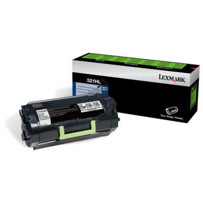 Lexmark 52D2H0L - 25000 pages - Black 52D2H0L