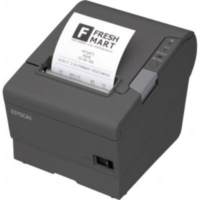 Epson TM-T88V - Thermal - POS printer - 180 x 180 DPI - 300 mm/sec - 1.41 x 3.39 mm - 80 mm C31CA85321B0