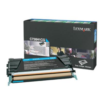 Lexmark C736H1CG - 10000 pages - Cyan - 1 pc(s) C736H1CG