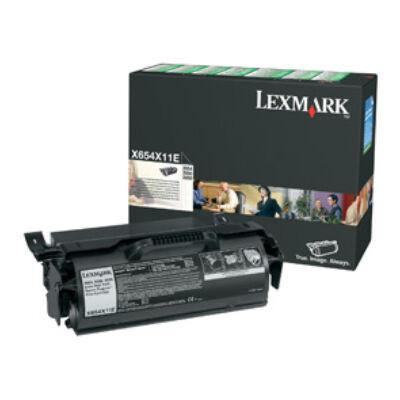 Lexmark X654X11E X654 X656 X658 K - utántöltő - festékkazetta X654X11E