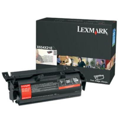 Lexmark X654 - X656 - X658 Extra High Yield Print Cartridge - 36000 pages - Black X654X31E