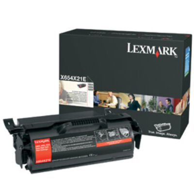 Lexmark X654 - X656 - X658 Extra High Yield Print Cartridge - 36000 pages - Black X654X31E