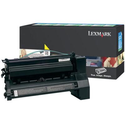 Lexmark C782X1YG - 15000 oldal - Sárga - 1 db C782X1YG
