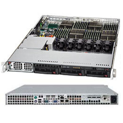 Supermicro AS-1042G-TF - 512 GB - 16 MB - Gigabit Ethernet - Intel® 82576 - AMI - Rack (1U) AS-1042G-TF