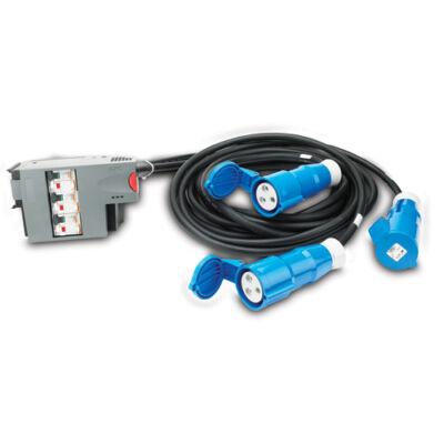 APC PDM2332IEC-3P30R-1 - fekete, kék - IEC 309 32A 3P + N + PE - (3) IEC 309 32A - 400 V - 50 Hz - 400 V PDM2332IEC-3P30R-1