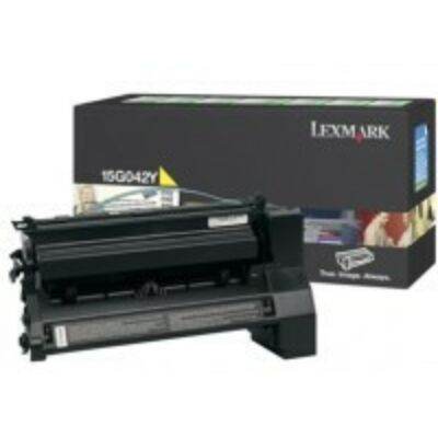 Lexmark 15G042Y - 15000 pages - Yellow - 1 pc(s) 15G042Y